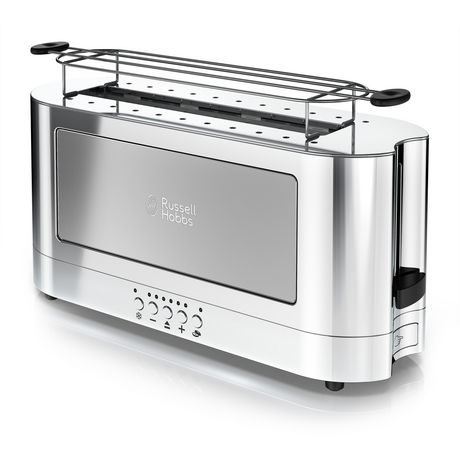 Russell Hobbs 2-Slice Glass Accent Long Toaster - image 1 of 7