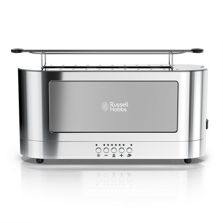 Russell Hobbs 2-Slice Glass Accent Long Toaster - image 2 of 7