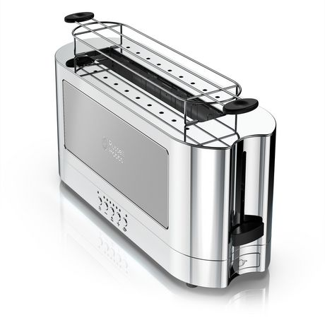 Russell Hobbs 2-Slice Glass Accent Long Toaster - image 3 of 7