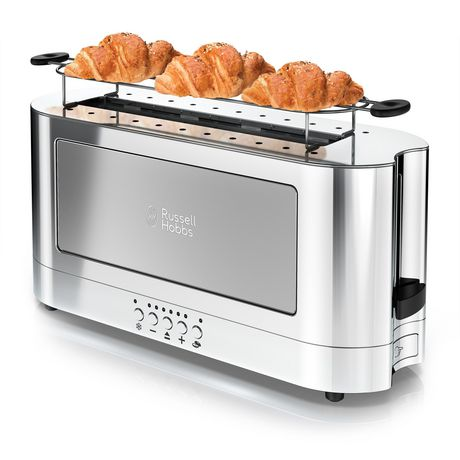 Russell Hobbs 2-Slice Glass Accent Long Toaster - image 5 of 7