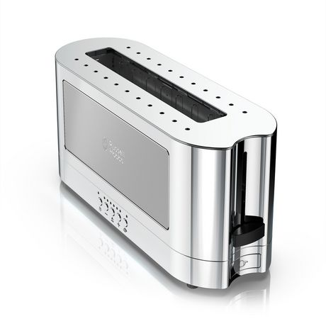 Russell Hobbs 2-Slice Glass Accent Long Toaster - image 6 of 7