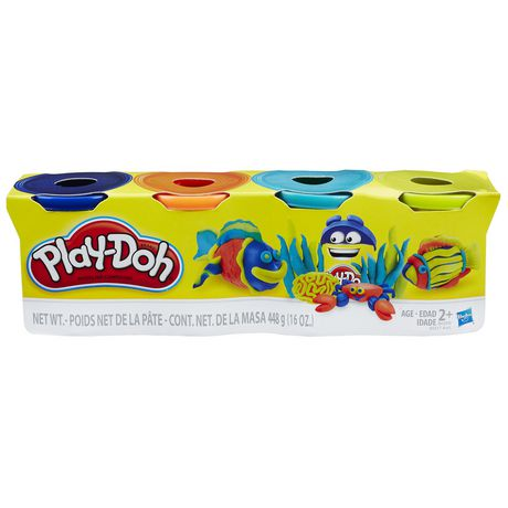 Play-Doh 4-Pack of Bright Colours - image 1 of 2