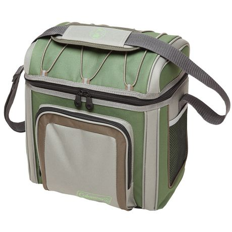 Coleman 24-Can Soft-Sided Cooler, Green - image 1 of 1