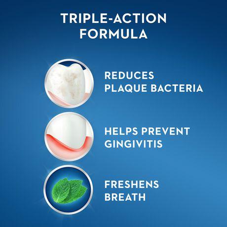 Rince-bouche Crest Pro-Santé Multi-Protection Menthe vive - image 5 de 8