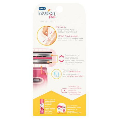 Schick Intuition f.a.b Bi-directional Razor for Women - image 2 of 5