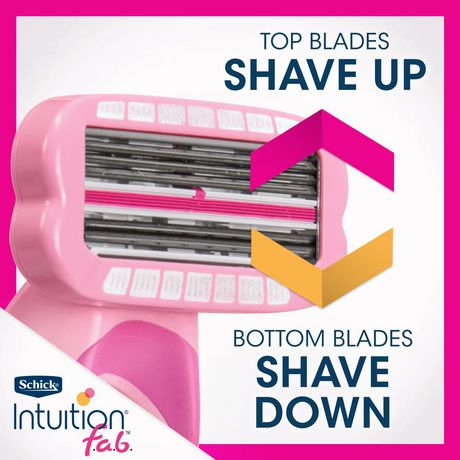 Schick Intuition f.a.b Bi-directional Razor for Women - image 4 of 5