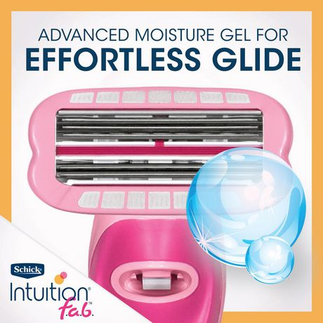 Schick Intuition f.a.b Bi-directional Razor for Women - image 5 of 5