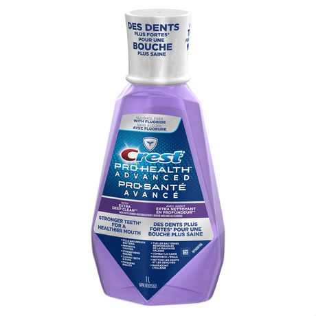 Rince-bouche avec agent nettoyant en profondeur extra Pro-Santé Avancé de Crest - image 4 de 8