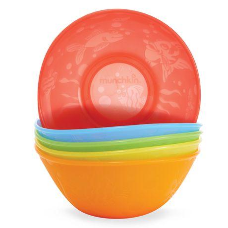 Munchkin Multi Coloured Bowl Set - image 1 of 6