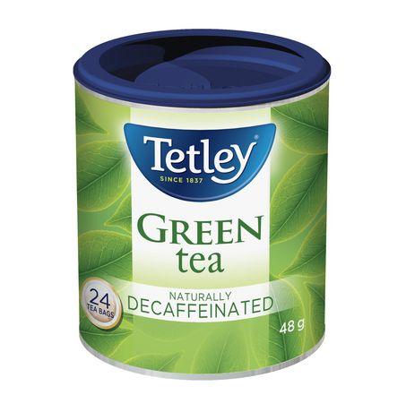 Tetley Naturally Decaffeinated Green Tea - image 1 of 3