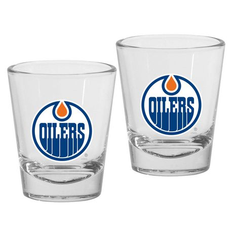 NHL Edmonton Oilers Shot Glasses - image 1 of 1