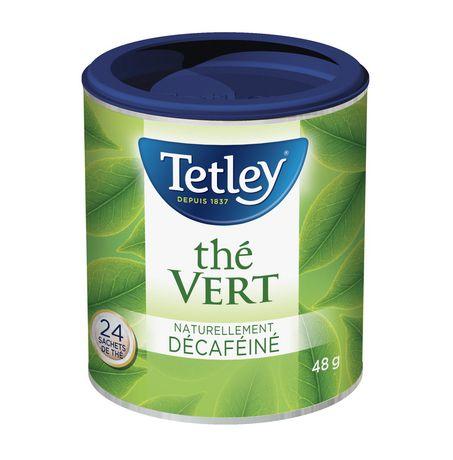 Tetley Naturally Decaffeinated Green Tea - image 2 of 3