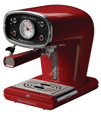 Espressione New Café Retro Espresso Machine - image 1 of 5