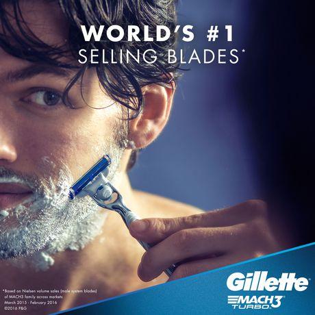 Gillette Mach3 Turbo Men's Razor Blades - image 4 of 9
