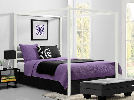 lit baldaquin moderne dhp walmart canada. Black Bedroom Furniture Sets. Home Design Ideas