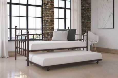Manila twin size daybed and twin size trundle walmart canada for Lit gigogne ikea daybed