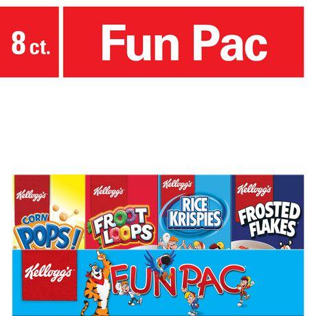 Kellogg's Fun Pac Cereal, 210g - image 1 of 4