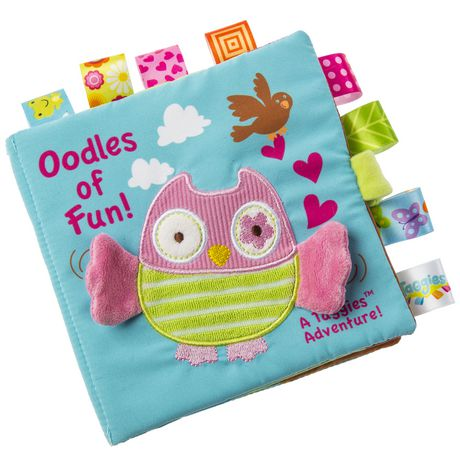 Mary Meyer Baby Taggies Oodles Owl Soft Book - image 1 of 1