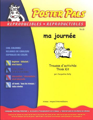 French Reproducible Teaching Activities for the FSL Classroom -ma journée - image 1 of 2