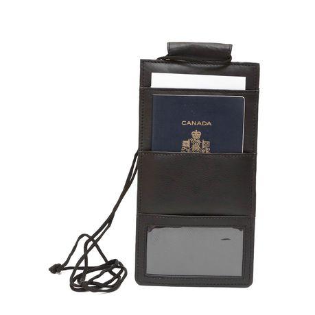 Ashlin Leather Ashlin Passport Lanyard Wallet - image 4 of 4