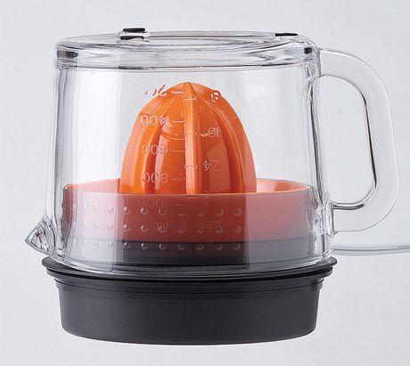 Presse-agrumes en verre Betty Crocker avec indication du niveau de jus et bec verseur - image 3 de 3
