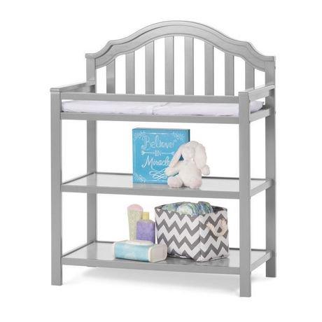 child craft penelope changing table matte white. Black Bedroom Furniture Sets. Home Design Ideas