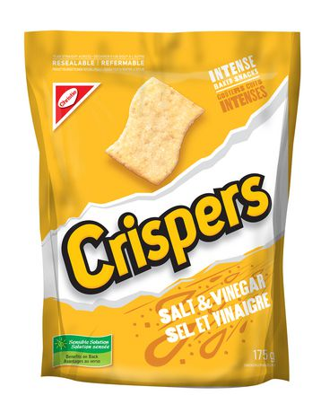 Crispers Salt & Vinegar - image 1 of 2
