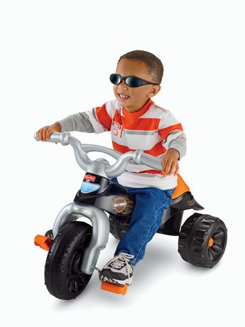 Fisher-Price Harley-Davidson Motorcycles Tough Trike - image 2 of 8