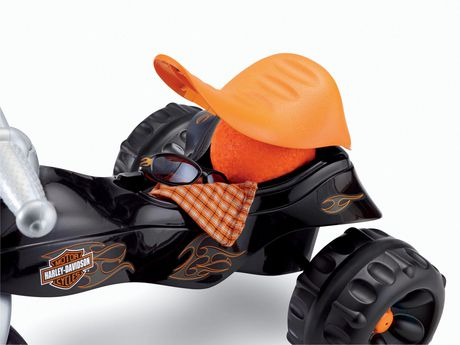 Fisher-Price Harley-Davidson Motorcycles Tough Trike - image 4 of 8