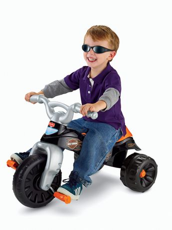 Fisher-Price Harley-Davidson Motorcycles Tough Trike - image 5 of 8