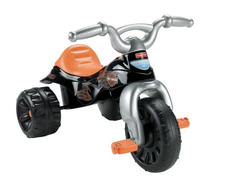 Fisher-Price Harley-Davidson Motorcycles Tough Trike - image 6 of 8