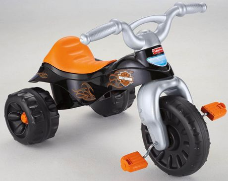 Fisher-Price Harley-Davidson Motorcycles Tough Trike - image 7 of 8