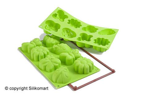 Silikomart Moule silicone platine à gâteau Printemps - image 1 de 6