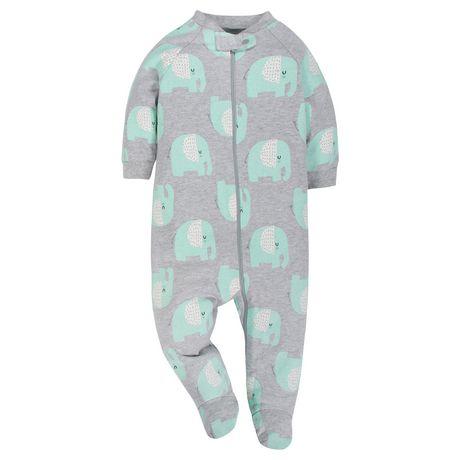 Gerber® Baby Neutral 2-Pack Organic Sleep 'n Play- Grey - image 3 of 5