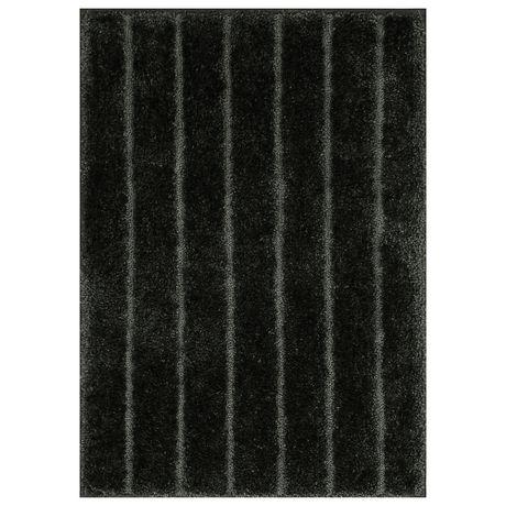 MAINSTAYS 2-piece Rug Set, Black - image 3 of 4