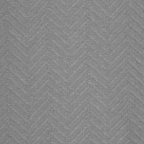 MAINSTAYS Waterproof Herringbone Fabric Shower Curtain Or Liner, 70 Inches X 72 Inches, Grey - image 3 of 4
