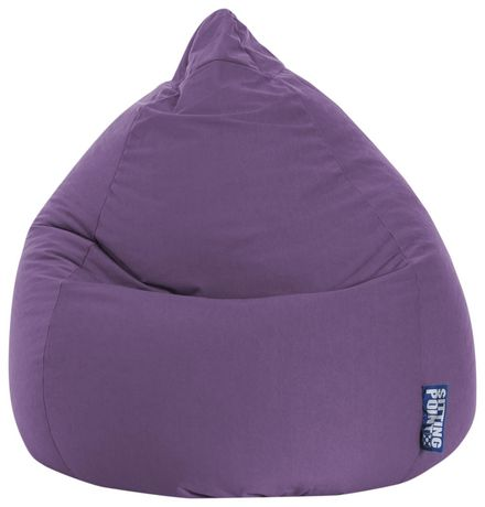 Sitting Point Easy Purple Beanbag - image 1 of 6
