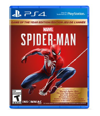 Marvel's Spider-Man: Game of the Year Edition (PS4)