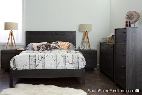 """South Shore Fynn Tête de lit double (54"""") - image 4 de 7"""