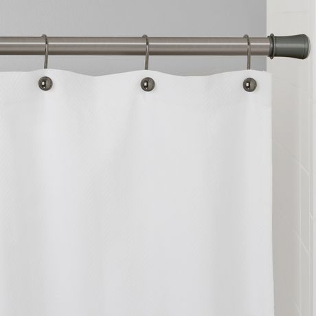 Mainstays Easy Up 86 Inch Adjustable Shower Tension Rod