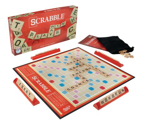 Scrabble Crossword Game - English - image 2 of 5