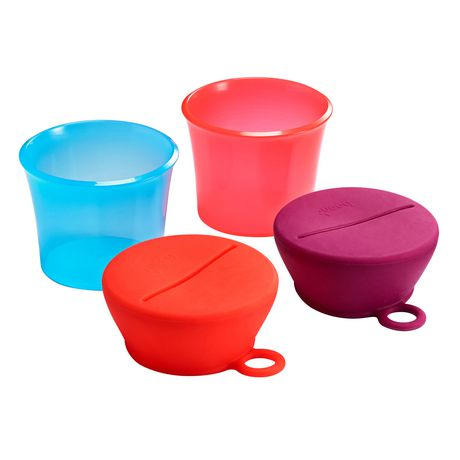 Boon Snug Snack Cups - image 1 of 4