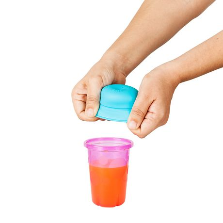 Boon Snug 3-Pack Cup Lids with Straws - image 3 of 3