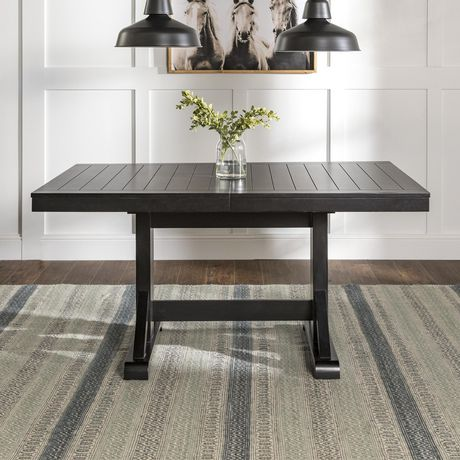 Table de cuisine en bois noir ancien | Walmart Canada