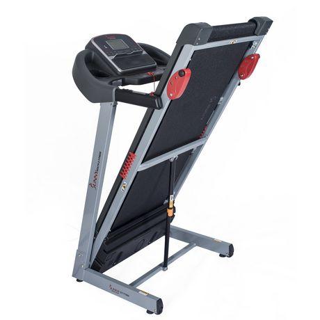 Tapis de course électrique Sunny Health & Fitness avec inclinaison manuelle et fonction de chargement USB - SF-T7860 - image 2 de 9