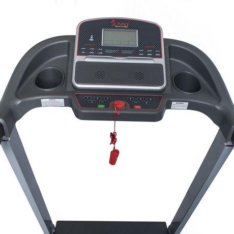Tapis de course électrique Sunny Health & Fitness avec inclinaison manuelle et fonction de chargement USB - SF-T7860 - image 3 de 9