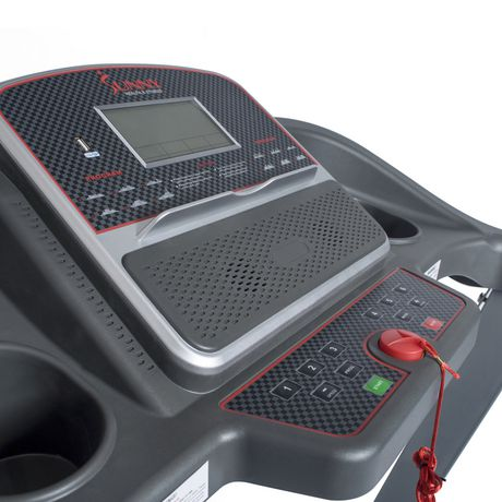 Tapis de course électrique Sunny Health & Fitness avec inclinaison manuelle et fonction de chargement USB - SF-T7860 - image 5 de 9