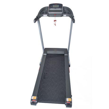 Tapis de course électrique Sunny Health & Fitness avec inclinaison manuelle et fonction de chargement USB - SF-T7860 - image 9 de 9