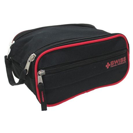 Swiss Travel Products Triple Compartment Toiletry Kit
