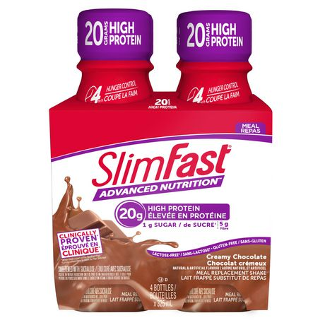 SLIM-FAST SlimFast Advanced Nutrition Hunger Control High Protein Creamy Chocolate Meal Replacement Shake - image 1 of 4